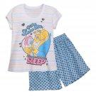 Disney Store Beauty and the Beast Ladies 2 Piece Short Pajamas PJ Set 2018 Size Medium