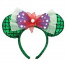Disney Ariel The Little Mermaid Headband Mouse Ears Theme Parks 2018 New