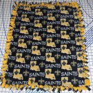 New Orleans Saints Blanket Toss Fleece Baby Pet Lap NFL Football