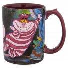 Disney Store Alice in Wonderland Cheshire Cat Painting Mug 2018
