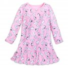 Disney Store 101 Dalmatians Nightshirt Long Sleeve Sleepwear Girls Pink Size 7/8