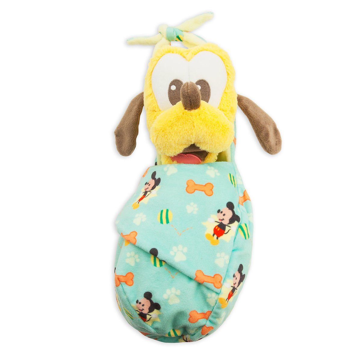 Disney Parks Pluto Plush with Blanket Pouch - Disney's Babies - Small