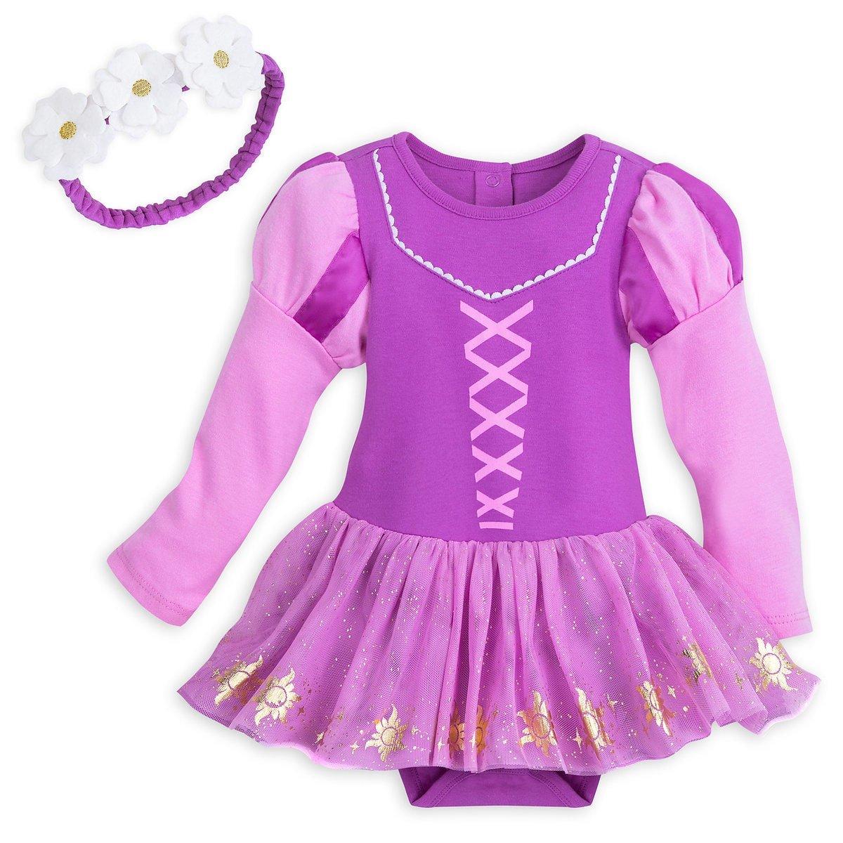 Disney Store Rapunzel Baby Costume 0-3 Months 2018 New