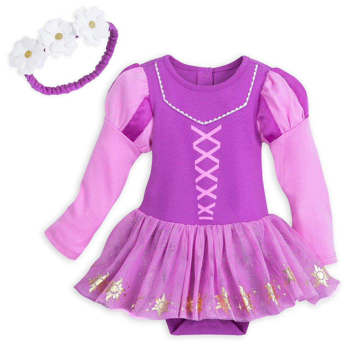 Disney Store Rapunzel Baby Costume 9-12 Months 2018 New