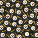 Pittsburgh Steelers Toss Football Fabric Hair Scrunchies Scrunchie NFL