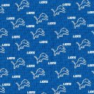 Detroit Lions Football Mini Fabric Hair Scrunchie Scrunchies NFL