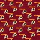 2 Washington Redskins Football Mini Print Fabric Mini Hair Scrunchies Scrunchie NFL