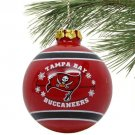 Tampa Bay Buccaneers Ornament Christmas Team Glass Ball Forever Collectibles