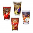 Disney Store Beauty and the Beast Drinking Glass Set - 4 pc. - Oh My Disney