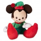 Disney Store Mickey Mouse Holiday Tiny Big Feet Micro Plush - Limited Release 2018