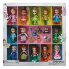 Disney Store Animators 13 Mini Doll Set Ariel Belle Elsa Snow White Cinderella Jasmine 2018