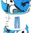 Disney Frozen Olaf Christmas Ladies Lounge Pants Sleepwear PJ's Blue L
