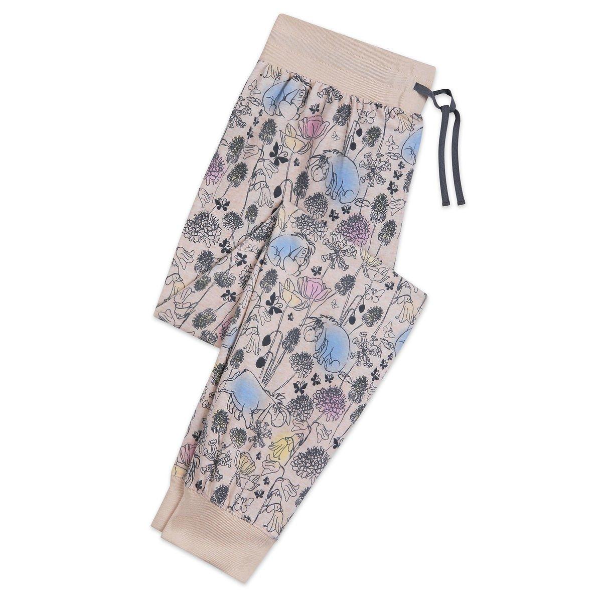 Disney Store Eeyore Ladies Lounge Pants Sleepwear Size XS 2018