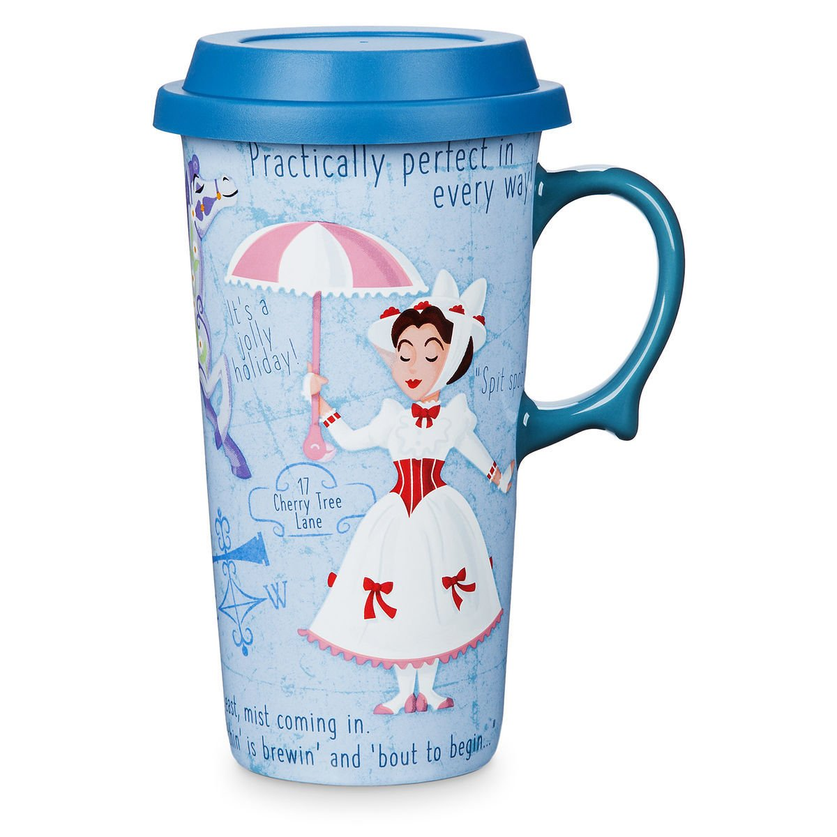 Disney Store Travel Mug Mary Poppins 2019 New