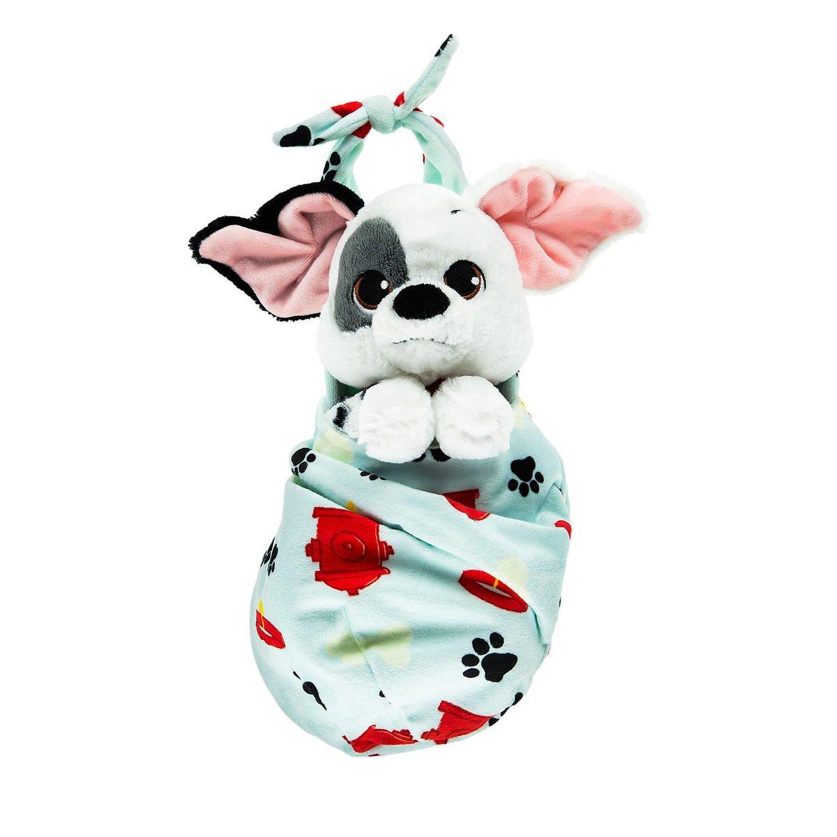 Disney Parks Patch Plush with Blanket Pouch - 101 Dalmatians - Disney Babies - Small