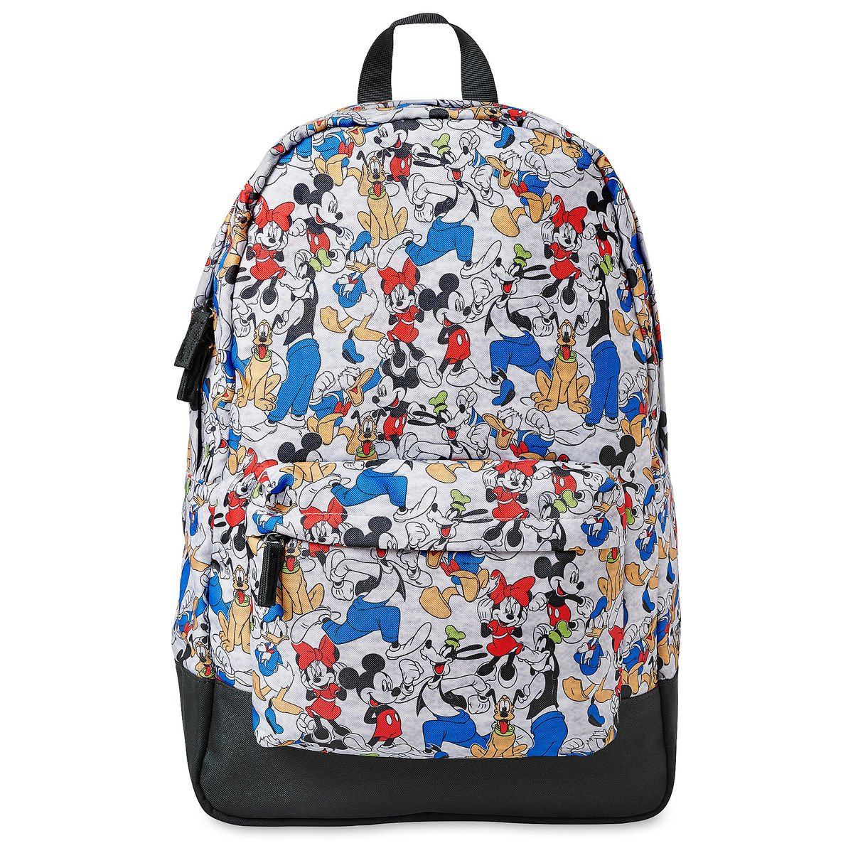 Disney Store Mickey Mouse Friends Donald Duck Pluto Goofy Minnie Backpack 2019