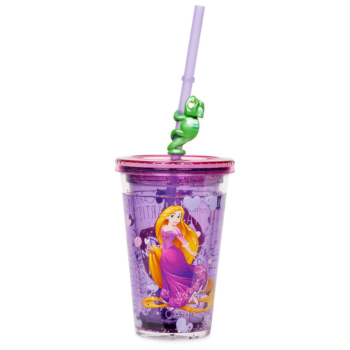 Disney Store Princess Rapunzel Tumbler Straw 2019 New