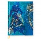 Disney Store Jasmine 'Free to Dream Journal Diary Aladdin New 2019