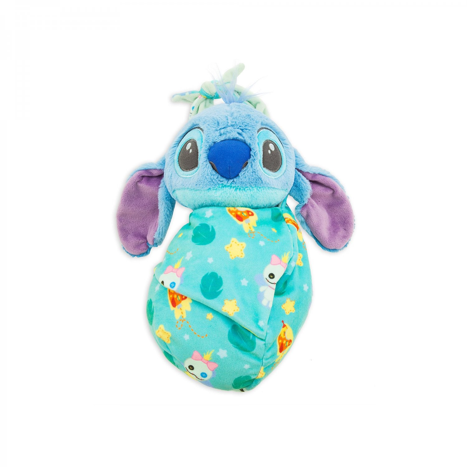 Stitch Plush in Pouch Disney Babies  Small Disney Parks New