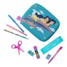 Disney Store Aladdin Jasmine Zip Up Art Case Stationary Pencils Markers 2019