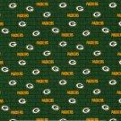 Green Bay Packers Football Mini Print Fabric Hair Scrunchie Scrunchies NFL