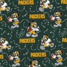 Green Bay Packers Football Mickey Mouse Fabric Hair Scrunchie Scrunchies NFL