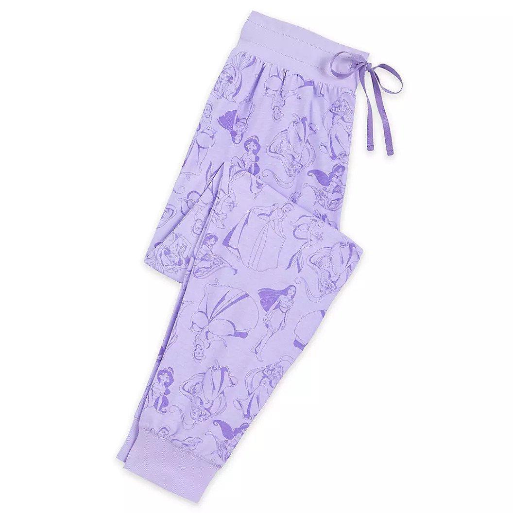 Disney Store Princess Ladies Lounge Pants Sleepwear Size XS 2019