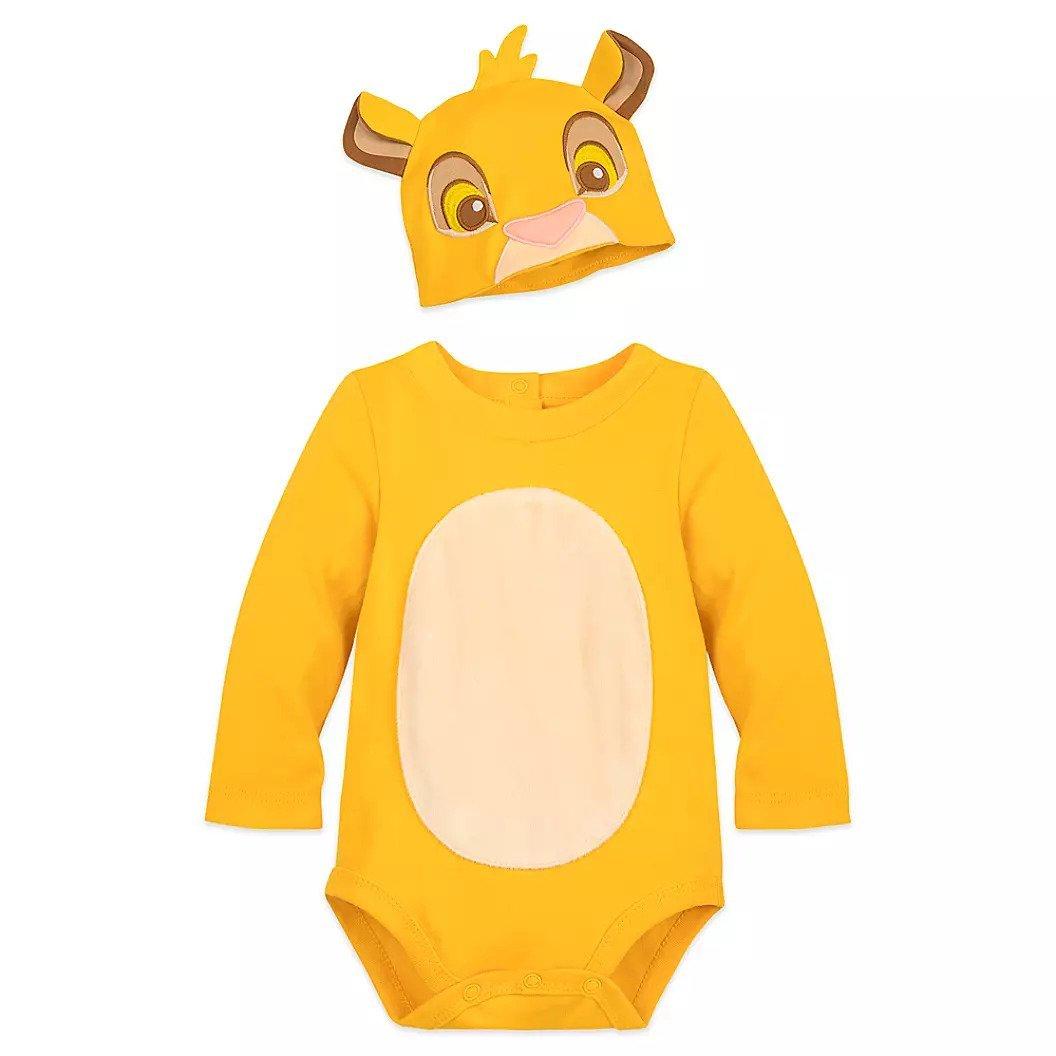 Disney Store Baby Bodysuit Costume Simba Size 3-6 Months 2019