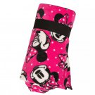 Disney Store Minnie Mouse Pink Printed Fleece Throw Blanket  2019