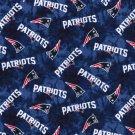 New England Patriots Football Tie Dye Flannel Fabric Hair Scrunchie Scrunchies NFL