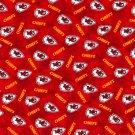 Kansas City Chiefs Football Tie Dye Flannel Fabric Hair Scrunchie Scrunchies NFL