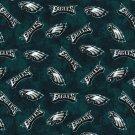 Philadelphia Eagles Football Tie Dye Flannel Fabric Hair Scrunchie Scrunchies NFL