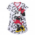 Disney Store Minnie Mickey Mouse Polka Dot Nightshirt for Women M/L New 2019