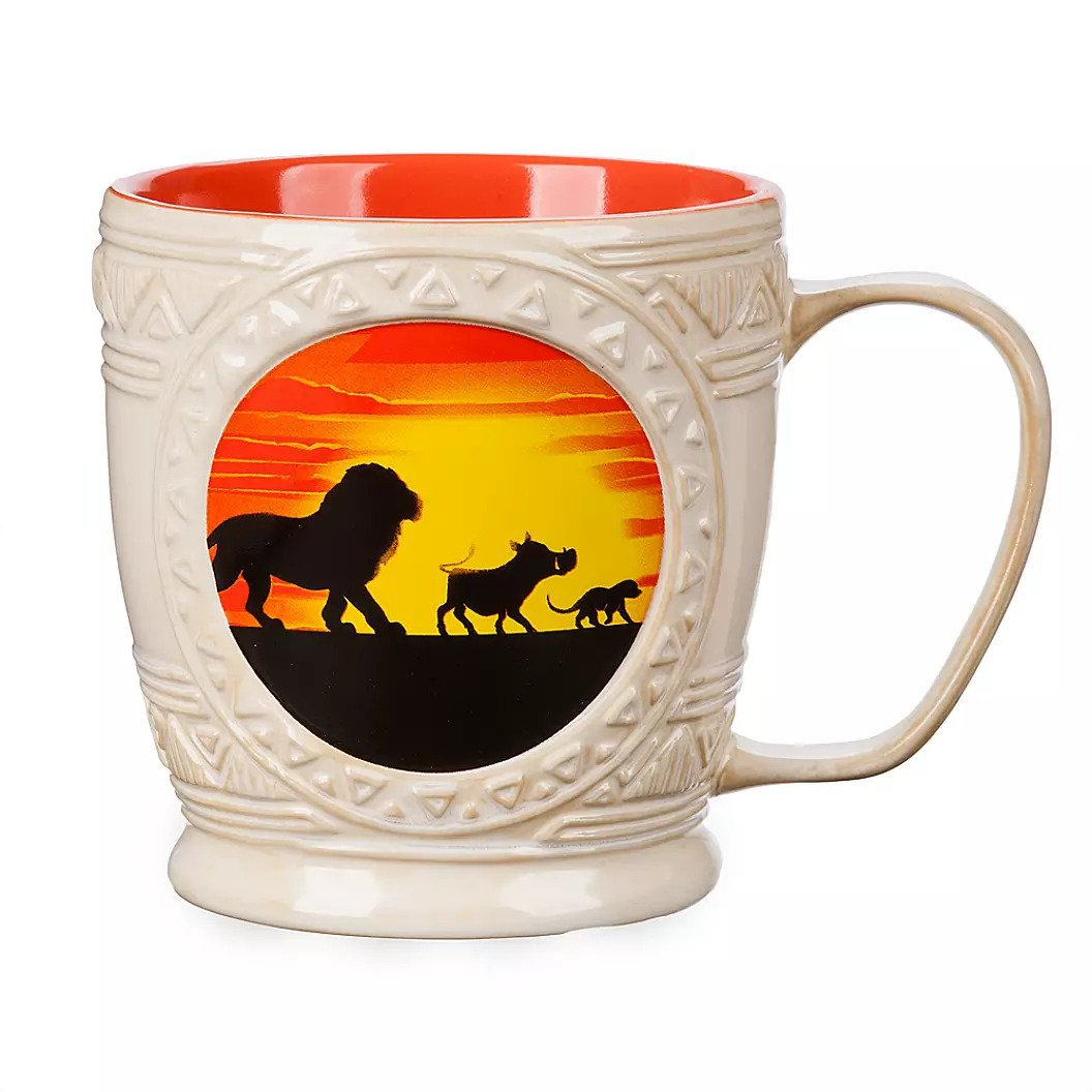 Disney Store Lion King Simba Pumbaa and Timon Mug Mug New 2019