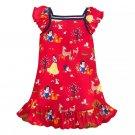 Disney Store Princess Nightshirt Snow White Red 2021 Size 7/8