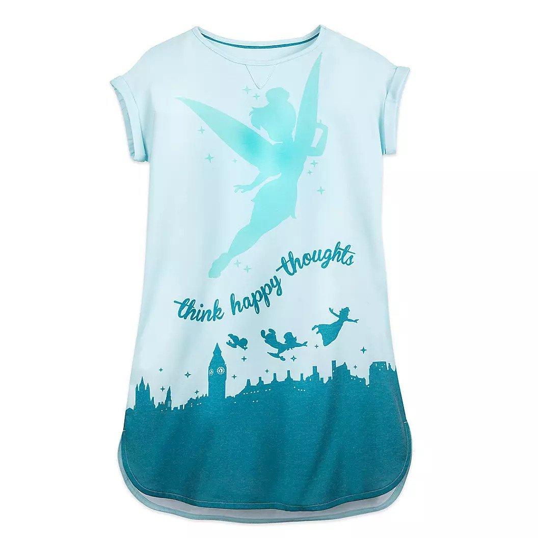 Disney Store Tinker Bell Nightshirt for Women  Peter Pan Size XS/S 2020 sold AZ 01/23/2021