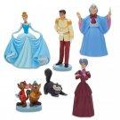 Disney Store Cinderella Figure Play Set – 70th Anniversary 2020