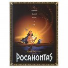 Disney Store Pocahontas Movie Poster Journal 2020
