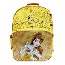 Disney Store Princess Belle Backpack  Gold Book Bag 2020