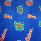 Florida Gators Blue Fleece Blanket Hand Tied Baby Pet Dog Lap NCAA College