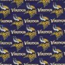 Minnesota Vikings Mascot Purple Fabric Hair Scrunchie NFL