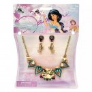 Disney Store Princess Jasmine Costume Jewelry Set 2020 New
