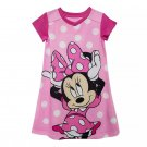 Disney Store Minnie Mouse Nightshirt Nightgown Girls 2020 New Size 5/6