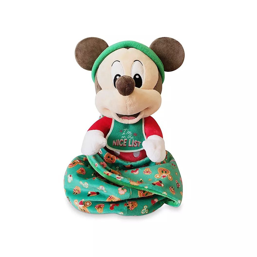 Mickey Mouse Disney Babies Holiday Plush � Small 10'' 2020 New