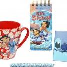 Disney Store Lilo and Stitch Mug and Stationery Set 2021