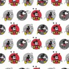 Disney Minnie Mickey  Mouse Circles Fabric hair Scrunchie Scrunchies by Sherry