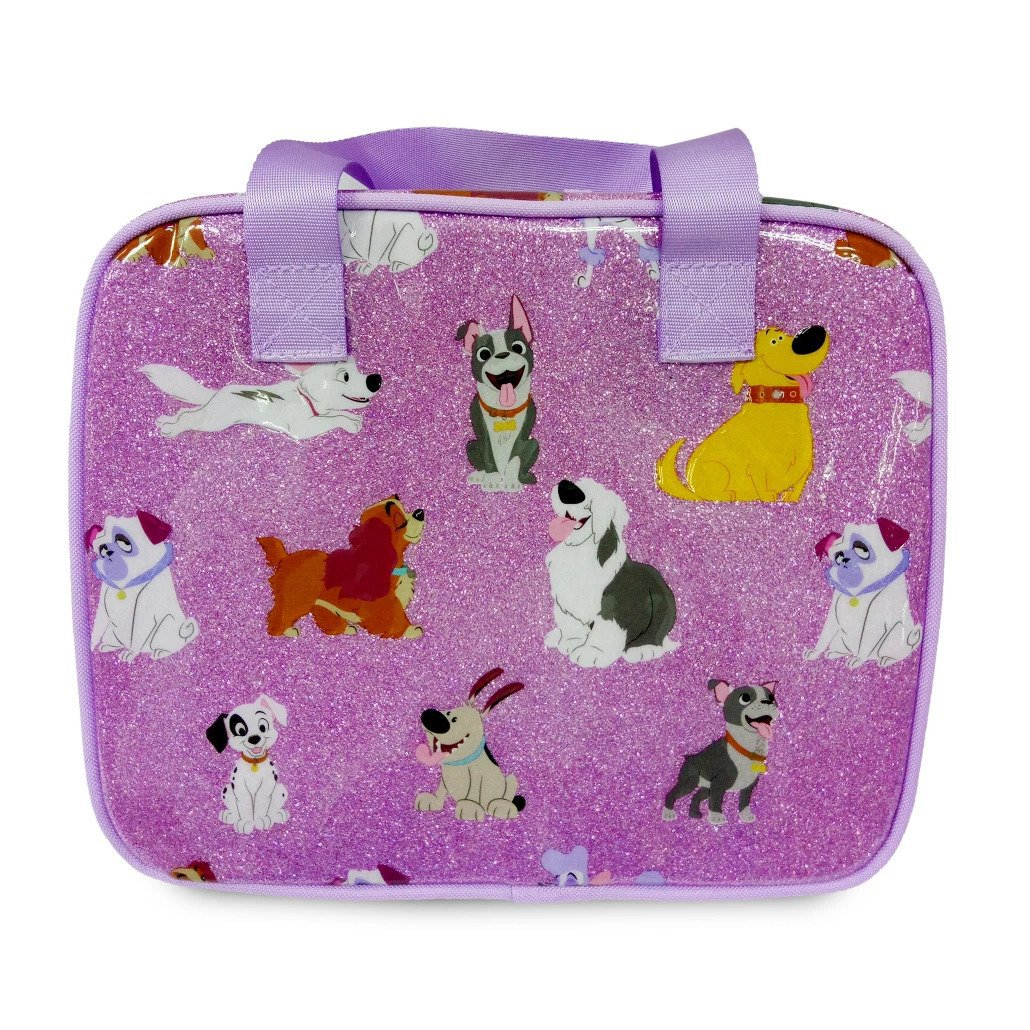 Disney Store Dogs Patch Max Lady Lunch Tote Box 2021