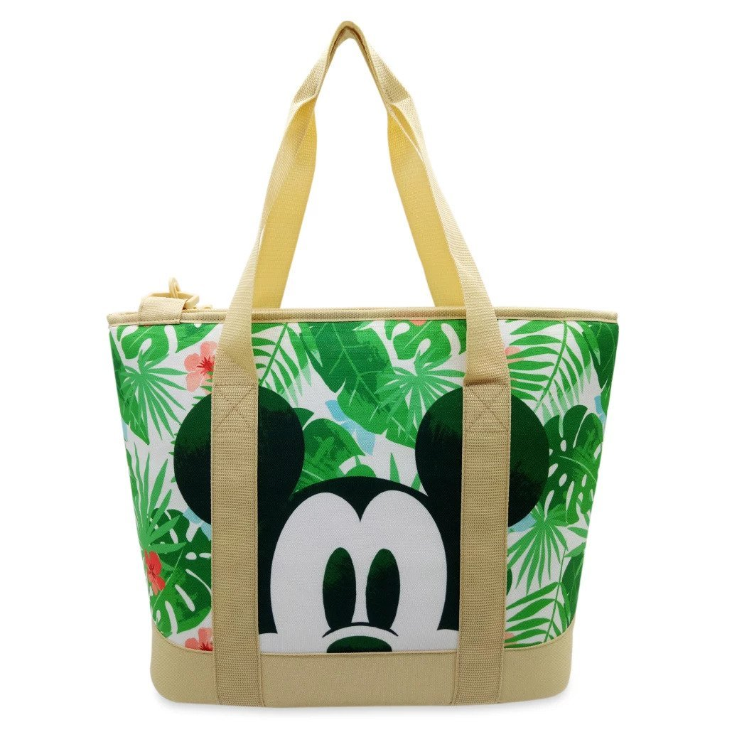 Disney Store Mickey and Minnie Mouse Tropical Cooler Bag 2021
