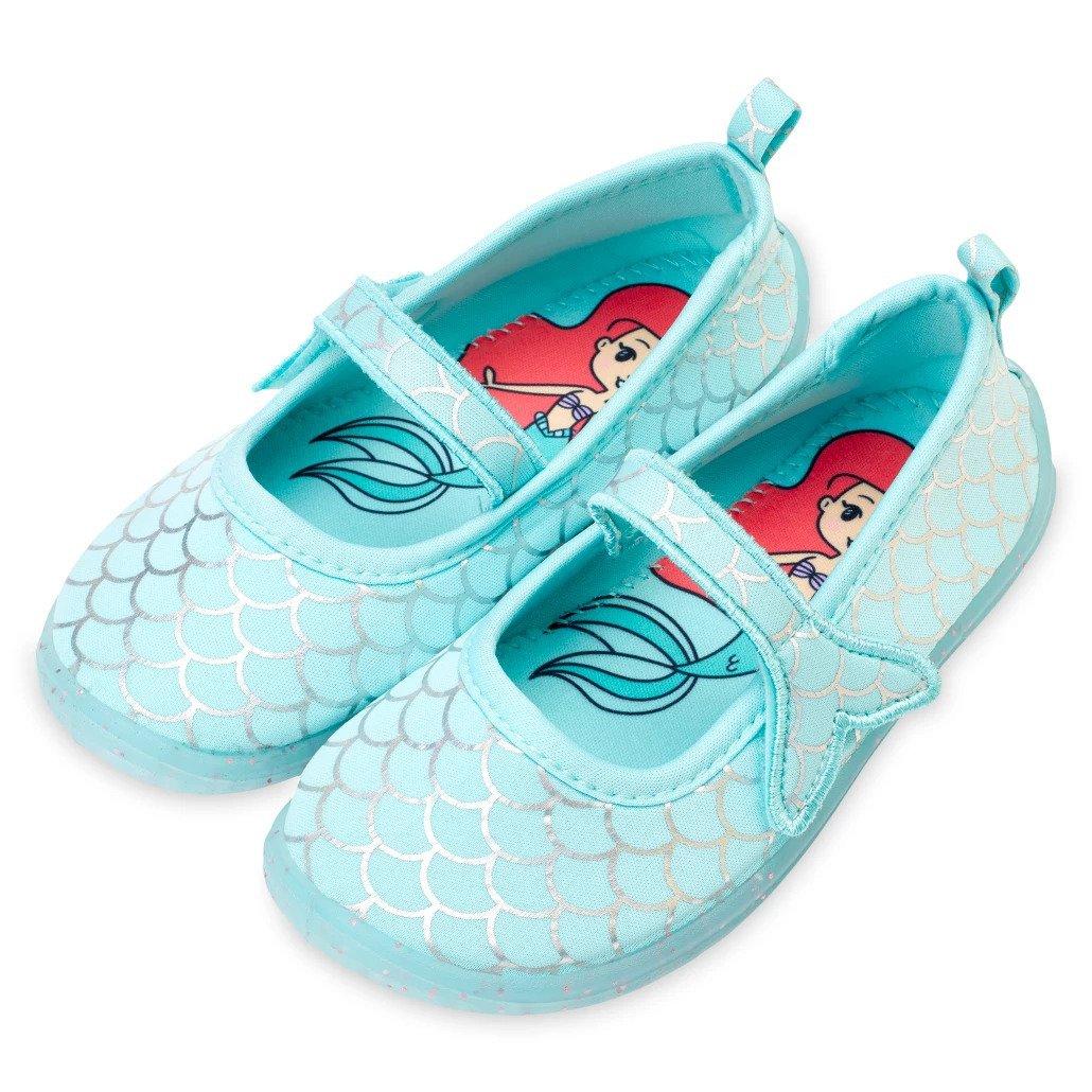 Disney Store Ariel Swim Shoes for Kids The Little Mermaid Size 7 2021