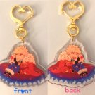 KiriBaku Fantasy AU Key-chain (Limited Edition Sticker Included)